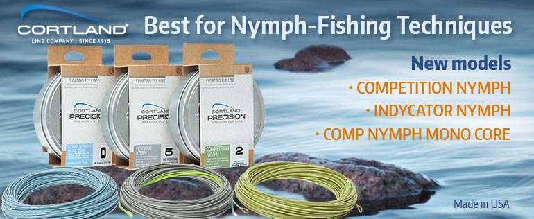 New fly lines Cortland Prcision