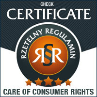 Certificate CARE OF CONSUMER RIGHTS