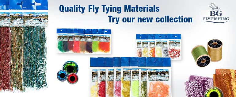 Quality Fly Tying Materials - BG Fly Fishing