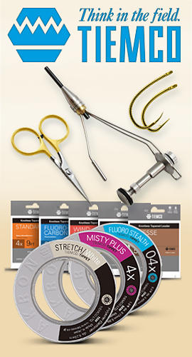 Tiemco - chose the best! Tools, Hooks, Tippets.