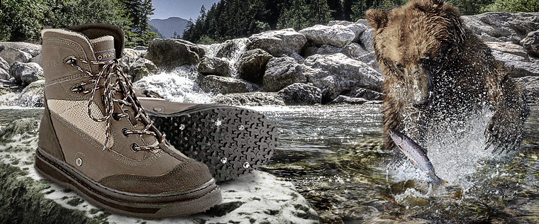 Wading boots