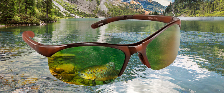 Polarized glasses for fisherman