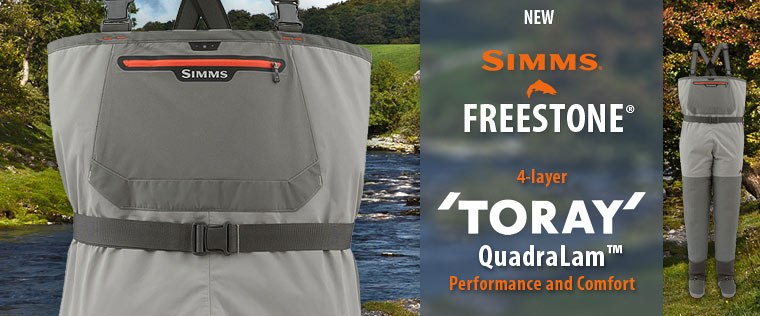 Waders Simms Freestone with TORAY shell