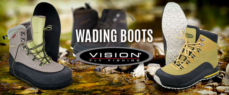 Vision - wading boots