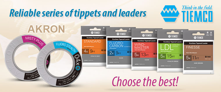 Tiemco - leaders and tippets ACRON series