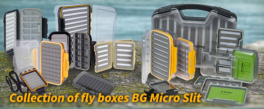 BG Fly Boxes - new models.