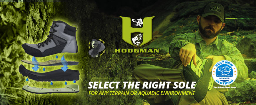 Hodgman H-Lock Interchangeable Sole Wade Boots