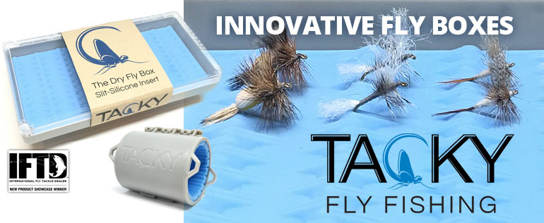 Tacky - Innovative Fly Boxes