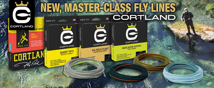 New CORTLAND fly lines