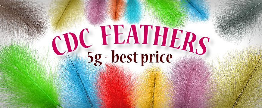 CDC feathers - best price