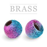 Brass Beads Sunny Metallic Rainbow
