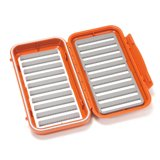C&F Design Large 20-Row WP Fly Case Burnt Orange