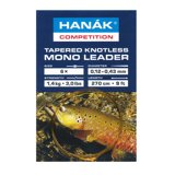 Hanak Tapered Knotless Mono Leader Camouflage 2,7m