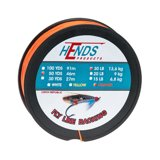 Hends Fly Line Backing Orange 50yds 30lbs