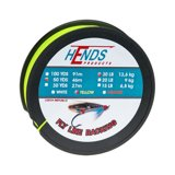 Hends Fly Line Backing Yellow Fluo 50yds 30lbs