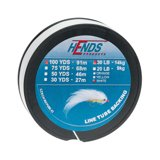 Hends Line Tube Backing White 100yds 20lbs