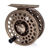 Traper Fly Reel CDC Olive Green