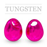 Tungsten Beads Jig Off Metallic Pink