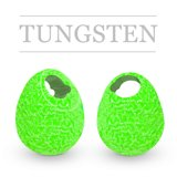 Tungsten Beads Jig Off Sunny Fluo Green