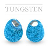 Tungsten Beads Jig Off Sunny Metallic Blue