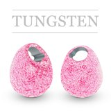 Tungsten Beads Jig Off Sunny Metallic Light Pink