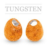 Tungsten Beads Jig Off Sunny Metallic Orange