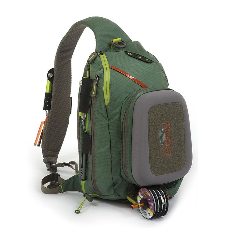 Fishpond summit sling tortuga accessories backpacks for Fly fishing packs