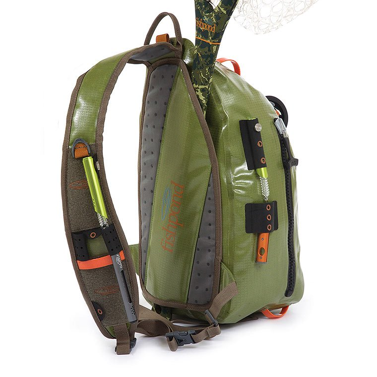 Fishpond Thunderhead Sling Cutthroat Green Accessories Backpacks Bags Tube
