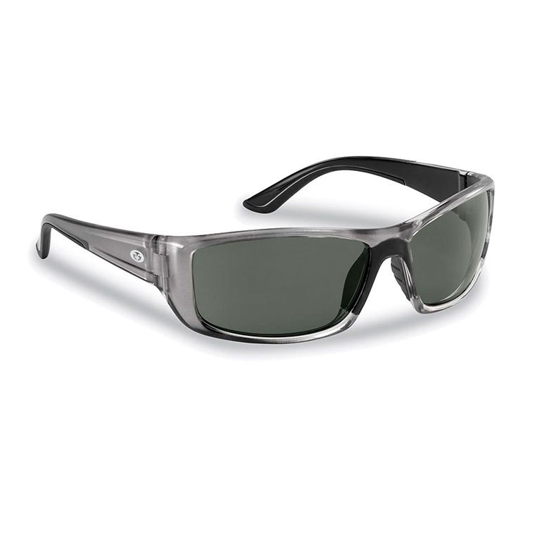 c25492c26fe Flying Fisherman Sunglasses Buchanan Crystal Gunmetal Smoke ...