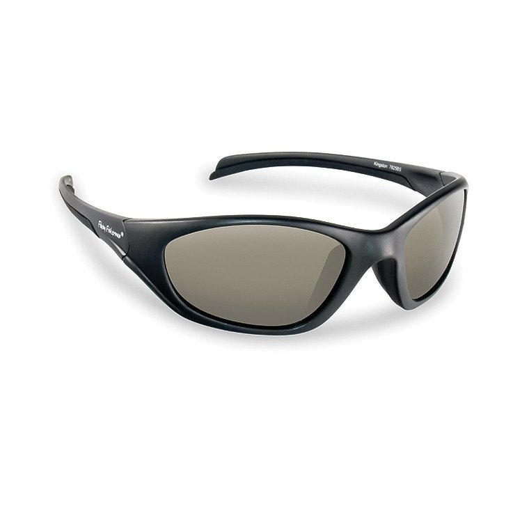 fda17973f5267 Flying Fisherman Sunglasses Kingston Matte Black - Smoke