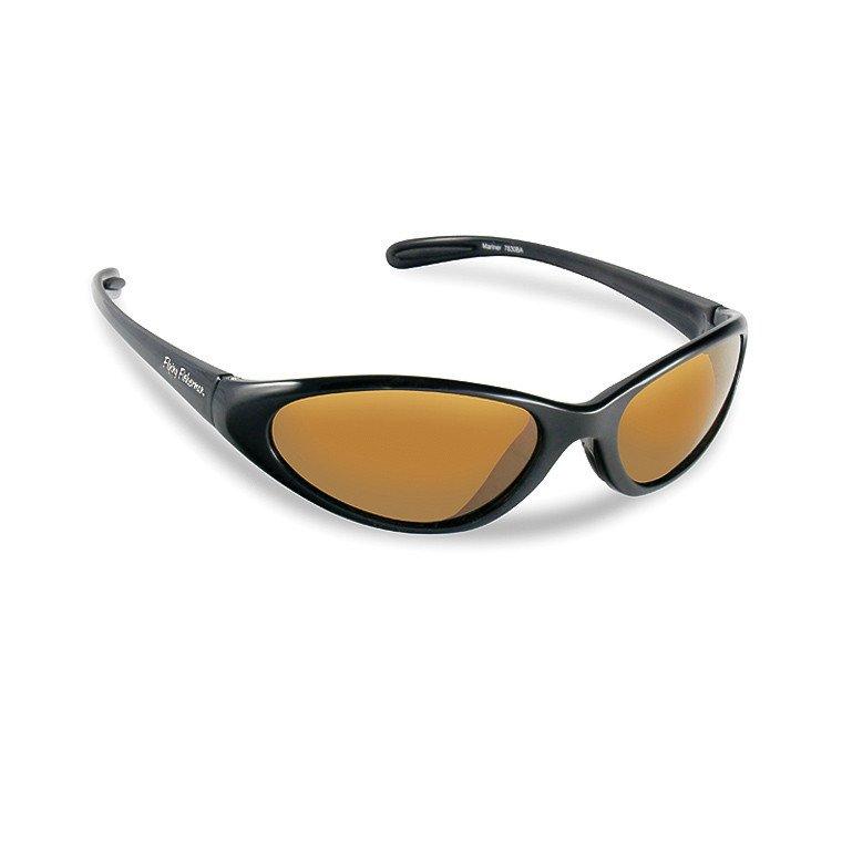afa41fba73c Flying Fisherman Sunglasses Mariner Black - Amber