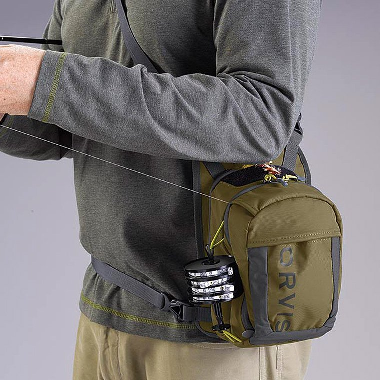 Orvis Safe Passage Chip Pack Olive Grey Accessories