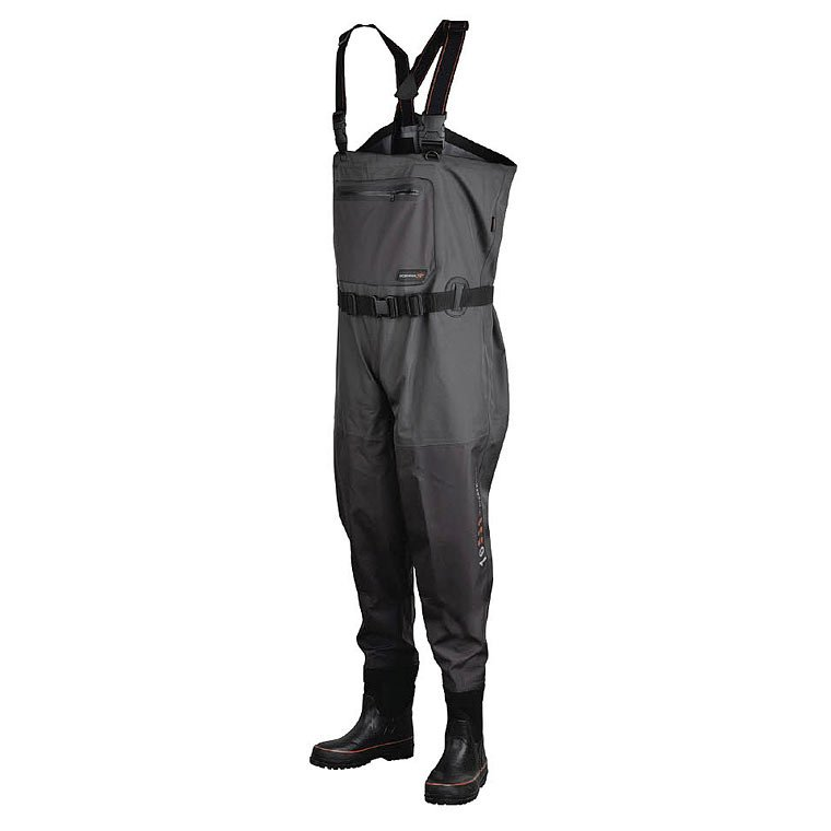 Scierra waders x 16000 chest wader boot foot cleated for Chest waders for fishing