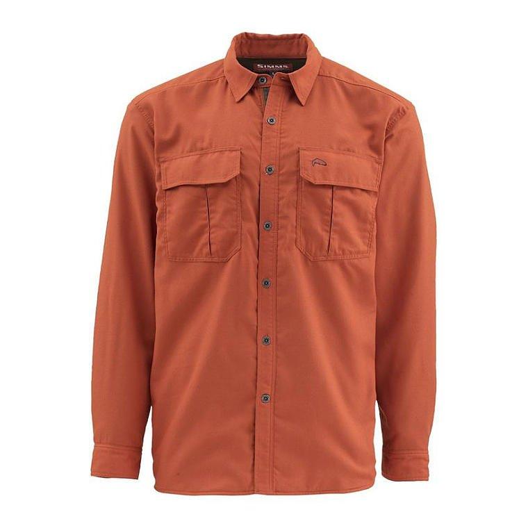 2704c6d72 Simms ColdWeather Shirt Simms Orange | Clothing \ Shirts