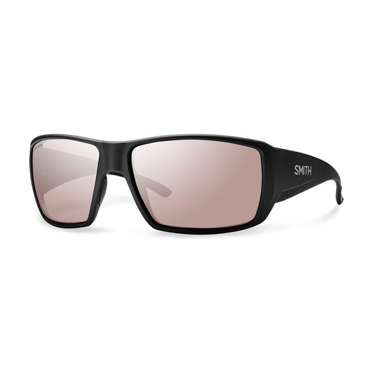 841c781396 Smith Optics Sunglasses Guides Choice Matte Black   Polarchromic Ignitor