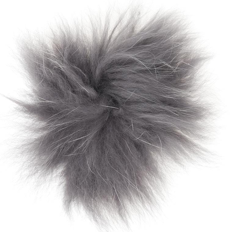 shad gray     AF137 Arctic fox fur