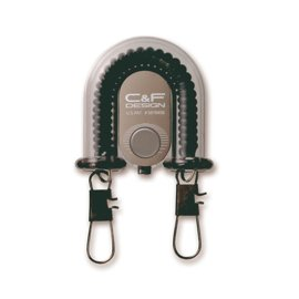 C&F Design 2-in-1 Retractor with Fly Catcher Black
