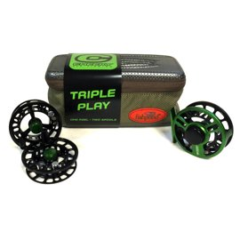 Cheeky Bundle Boost 325 2-4 Triple Play + Fishpond Reel Case