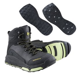 Hodgman Vion  Wade Boot + WadeTech Sole + Studded WadeTech Sole