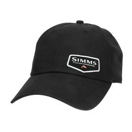 Simms Oil Cloth Cap Black