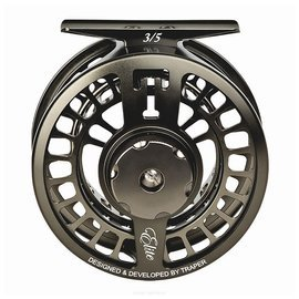 Traper Elite Fly Reel Gun Smoked