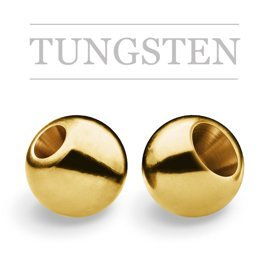Tungsten Beads Gold New